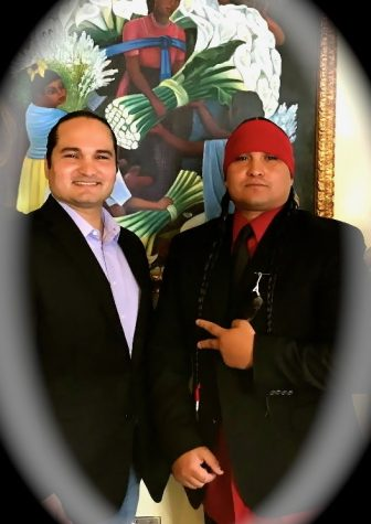 Chris Alvarado Waipuk (left) and Jake Alvarado Waipuk (right) are looking to promote Kumeyaay nation and their traditions and stories to future generations.