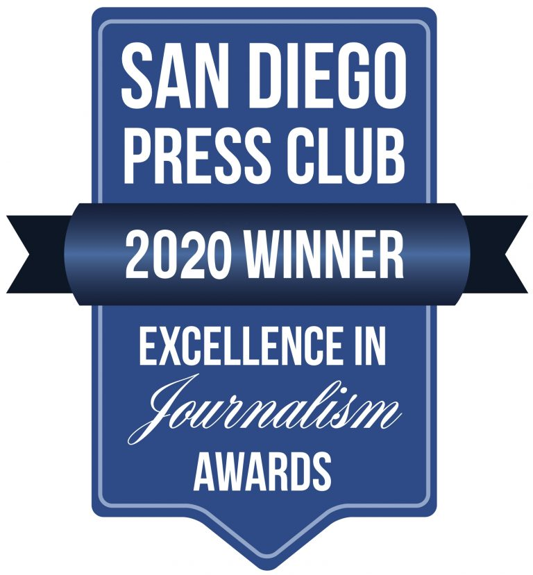 The Daily Aztec took home second place in the Best College Newspaper category at the San Diego Press Club's annual awards.