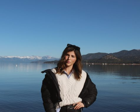 A photo of Roxana Becerril from her trip to Lake Tahoe, CA.