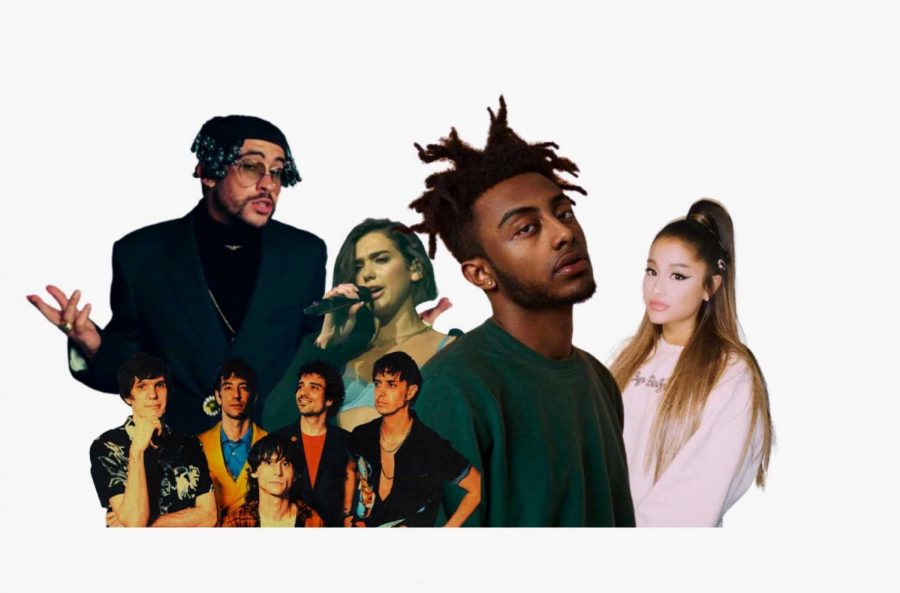 Ariana Grande, Aminé, Dua Lipa, Bad Bunny and The Strokes are the artists that round out our picks for part two of 2020's Albums of The Year.