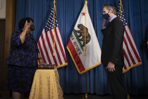 Gov. Gavin Newsom swears in Dr. Shirley Weber as California