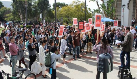 Students gather at an SDSU International Youth and Students for Social Equality  event in 2017. (Courtesy of Melody, an SDSU IYSSE alumni)