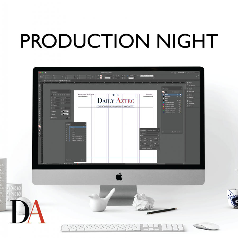 Production Night is The Daily Aztec's weekly news podcast that is pulling back the curtain on San Diego State's student newsroom. Writers, editors and guests will discuss the week's biggest stories and invite listeners into the action.