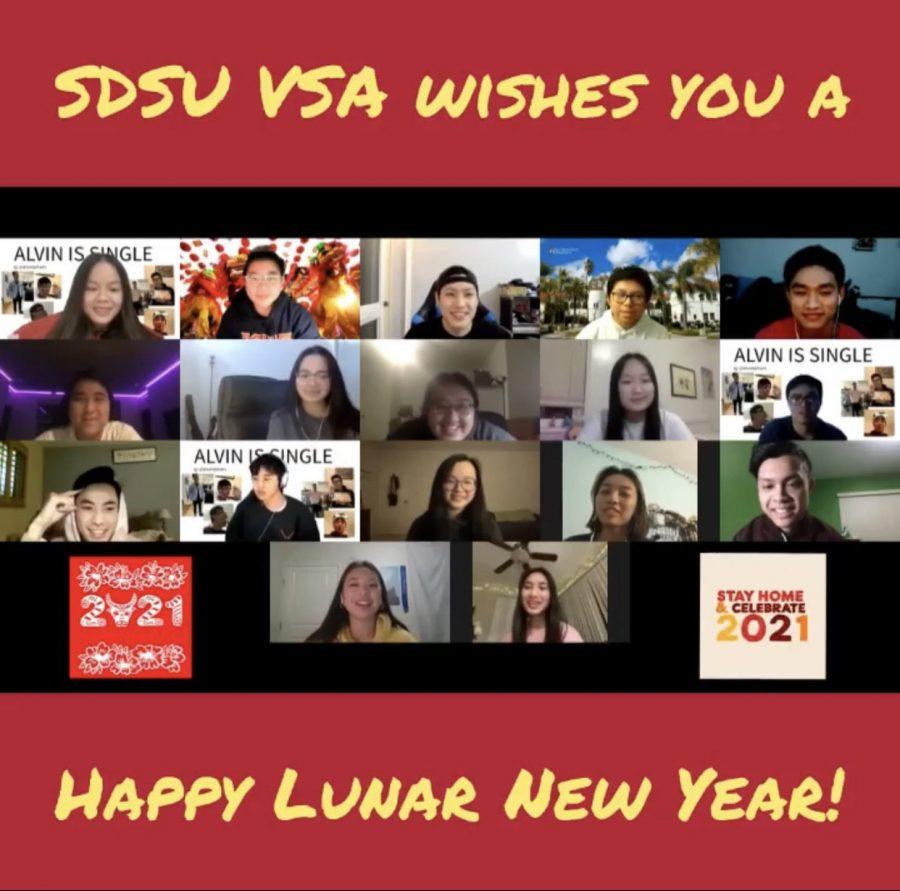 Members+of+SDSU+VSA+wish+everyone+a+Happy+Lunar+New+Year+through+Discord.+Courtesy+of+the+SDSU+VSA.