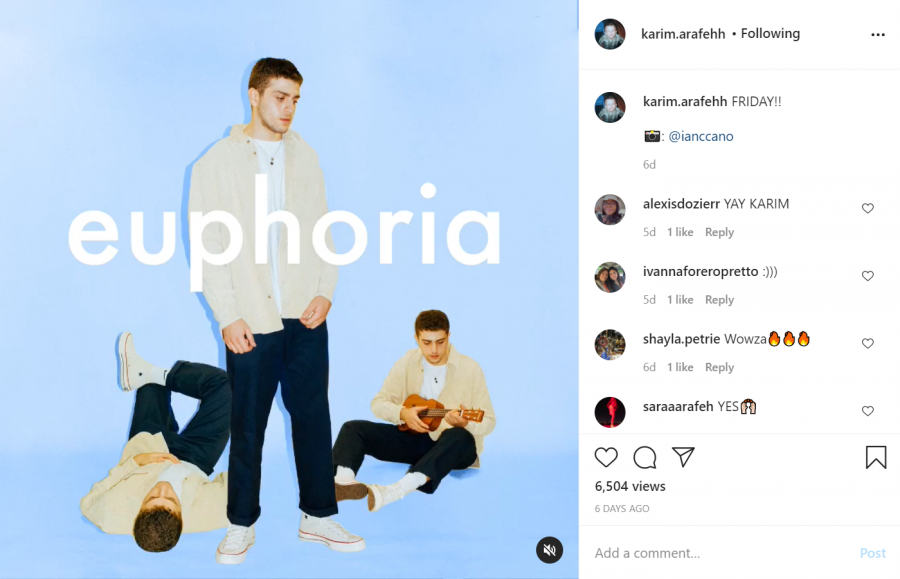 """B.L.E.U., also known as Karim Arafah, promotes his newest album """"Euphoria,"""" which came out on Jan. 22."""