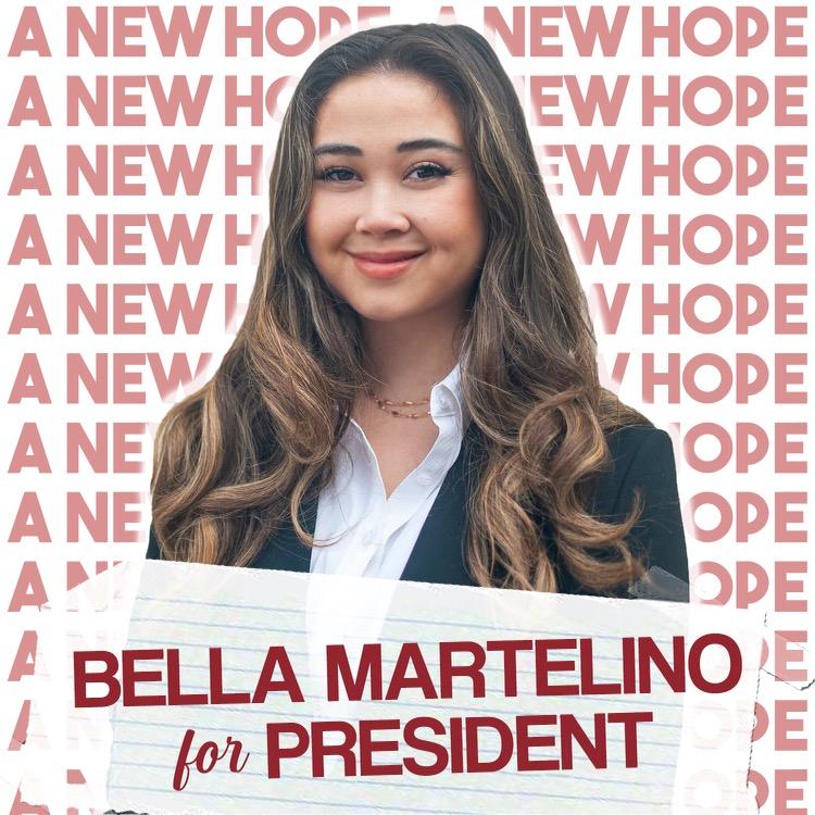 A.S. presidential candidate Bella Martelino