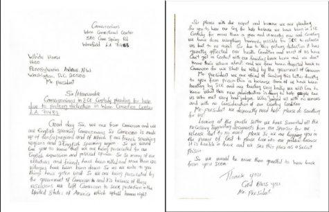 Carta para el Presidente Biden escrita por un inmigrante camarunés
