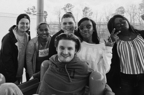 Pictured (left to right) Ashley Luckett, Sarah Allen, Bailey Kirkland, Aaliyah Alexander, Kendra Williams and Jackson Hale. Photo provided by Aaliyah Alexander.
