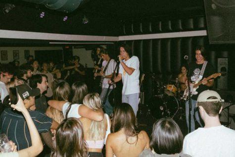 Saint Luna performing at Soda Bar on July 22.