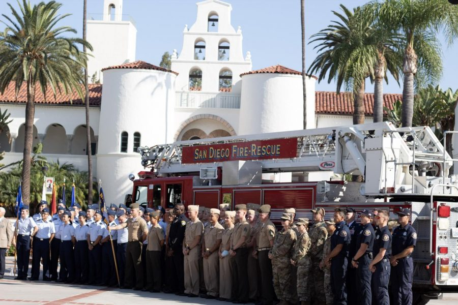 Service members and staff honor and remember the innocent lives taken on Sept. 11, 20 years ago.