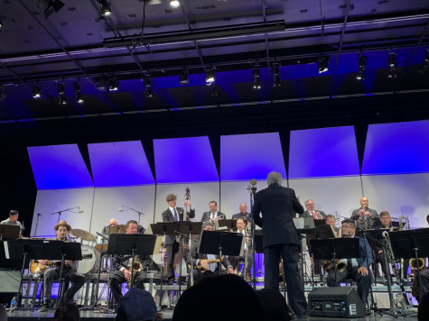 The Bill Yeager Jazz Orchestra consists of Professor Bill Yeager, associates and his former music students.