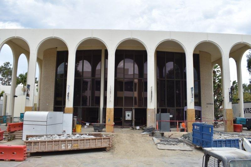 The Conrad Prebys Second Stage Theatre construction is underway and is scheduled for completion in 2023.