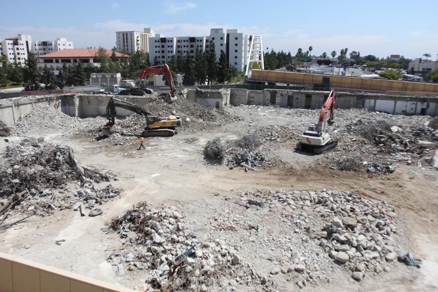Aztec Center Demolition Complete