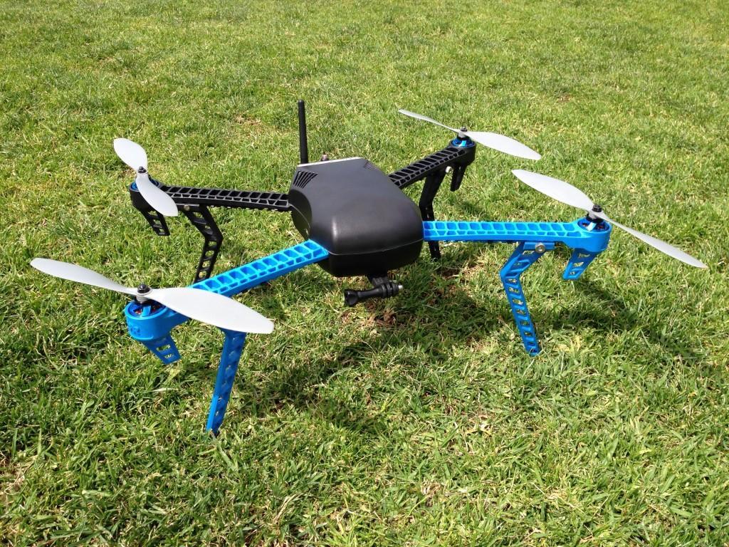 Aztec helps develop waterproof drone