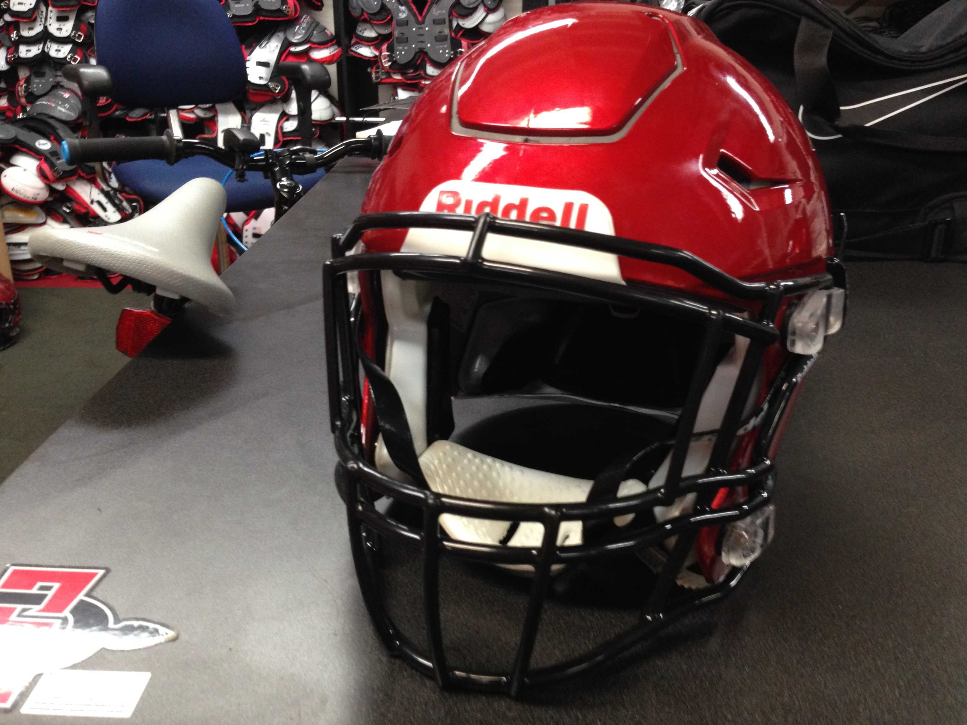 Aztecs test new safety feature for helmets