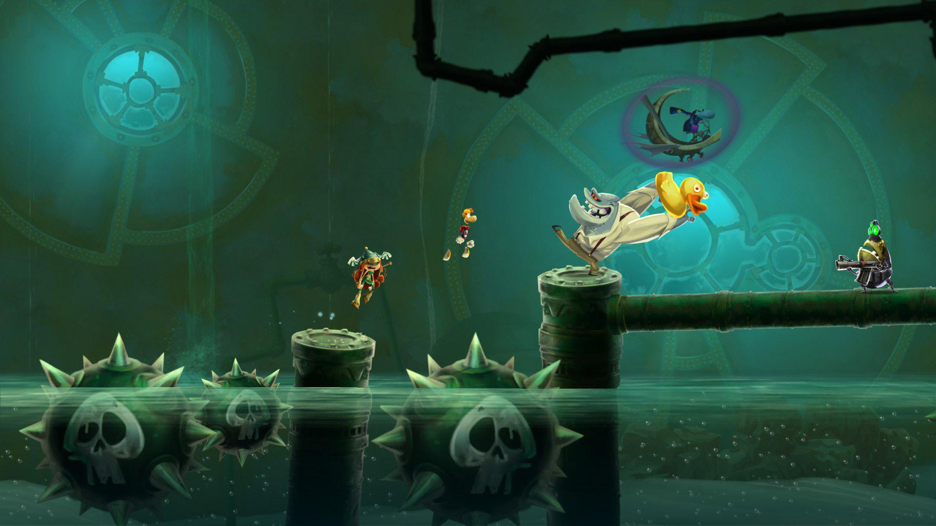 Multiplayer fun in Rayman Legends