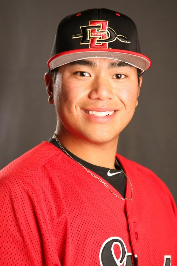 Jomel Torres' hits on Tuesday weren't enough for the win. | Courtesy of SDSU Athletics