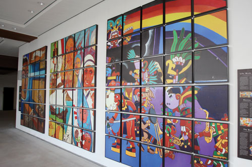 Painting the way: Campus murals as cultural expression