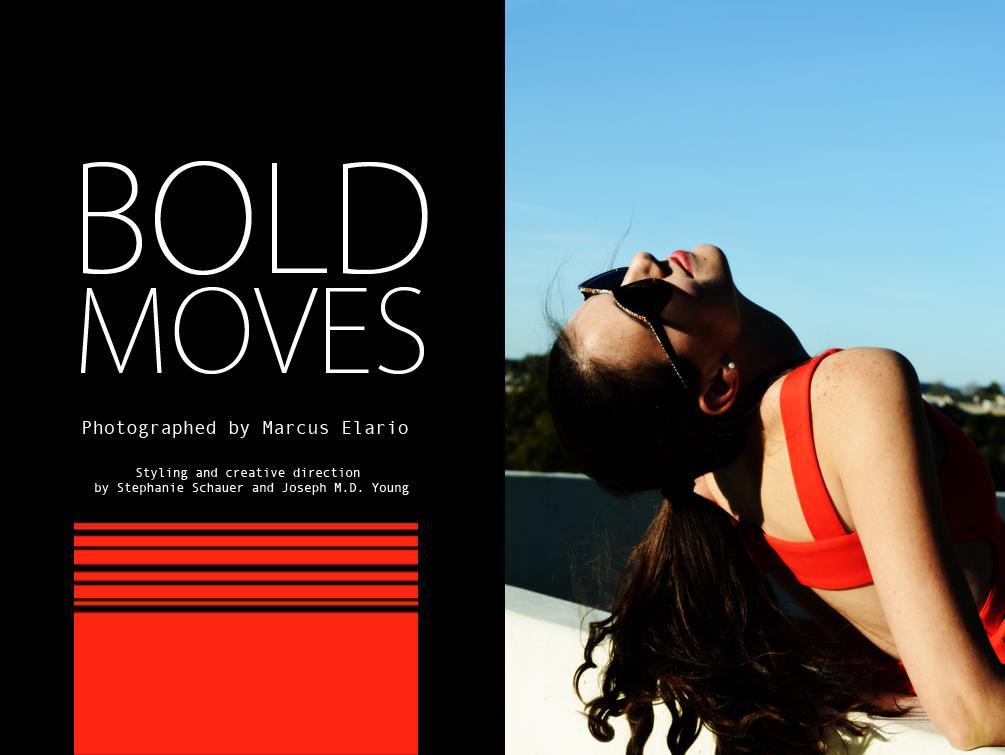 Fashion Photo Story: Bold Moves