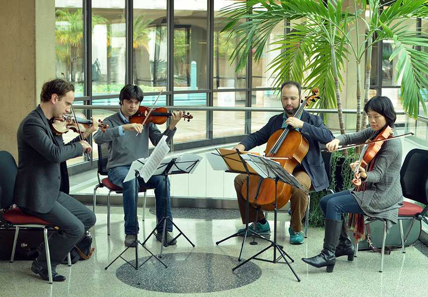 Art Under the Dome: The Hausmann Quartet