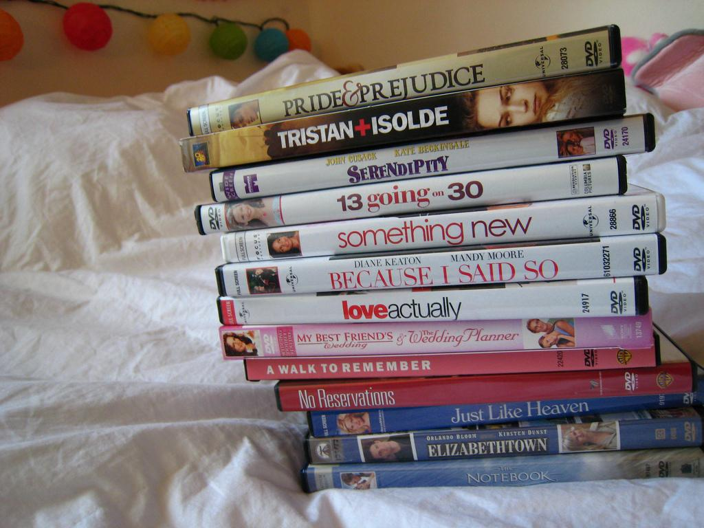 stack of movies
