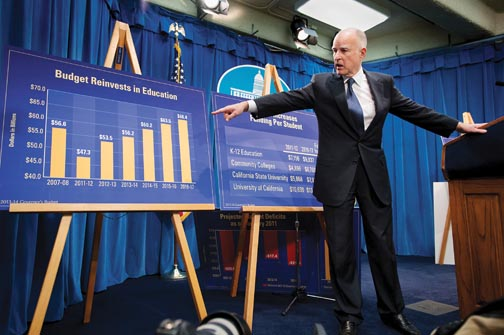 Gov. Brown boosts CSU's budget