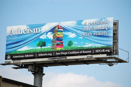 Atheists send message with new billboard