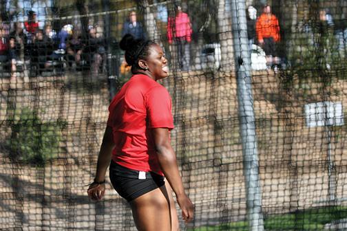Jasmine Burrell aims for the Olympics