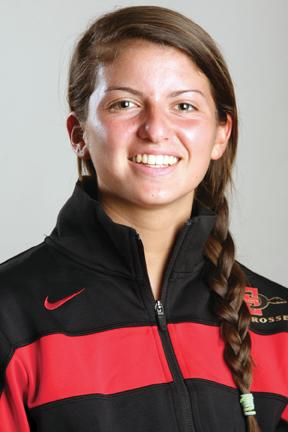 Bailey Ewing had four goals and an assist in SDSU's first-ever win. | Courtesy of SDSU Athletics