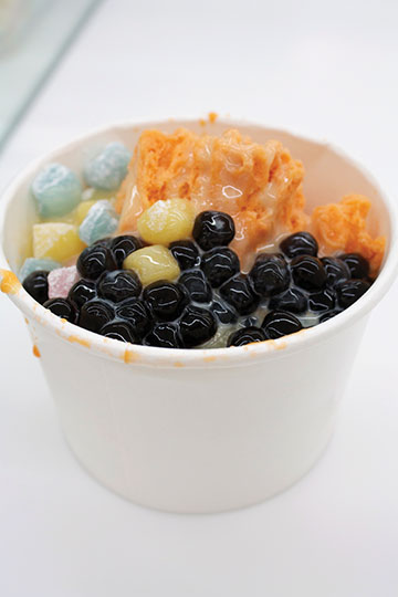 Ditch the fro-yo, snack on boba