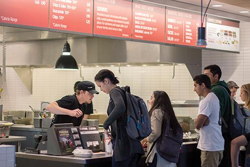 New Chipotle opts out of meal plan