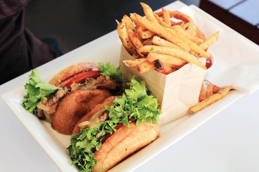 Burger Lounge is a fresh alternative to fast food