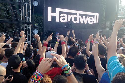 Hardwell gets EDM fans raving