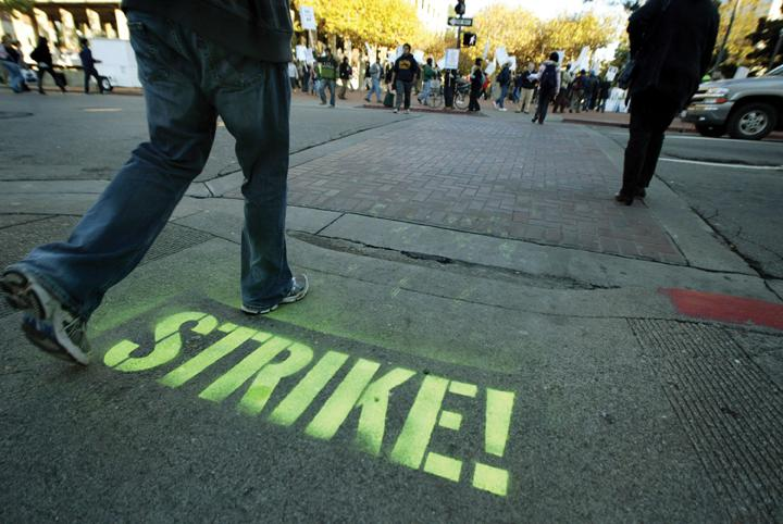 After a 22-month bargaining process broke down between the 23 CSU campuses and the Chancellor's Office, the California Faculty Association is contemplating a strike. | MCT Campus