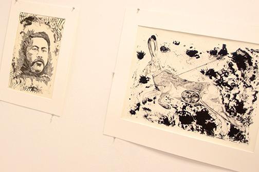 Art event showcases printmaking