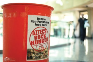 Because of COVID-19, Aztecs Rock Hunger had to plan for this year
