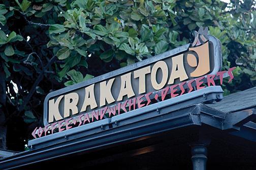 Flavor erupts at Krakatoa