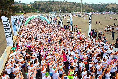 5k run brightens San Diego
