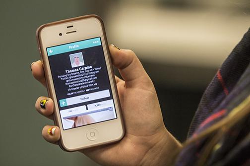 Fame entwines student via phone app