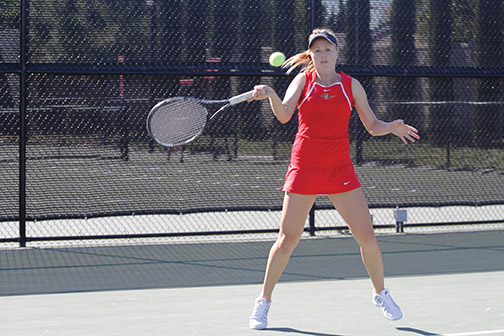 Women's tennis has faulty Fall finish – The Daily Aztec