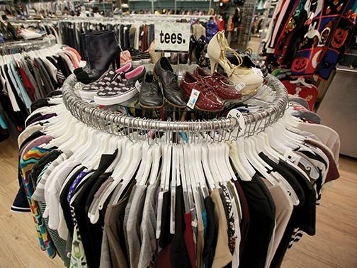 Local businesses encourage the exchange of clothes