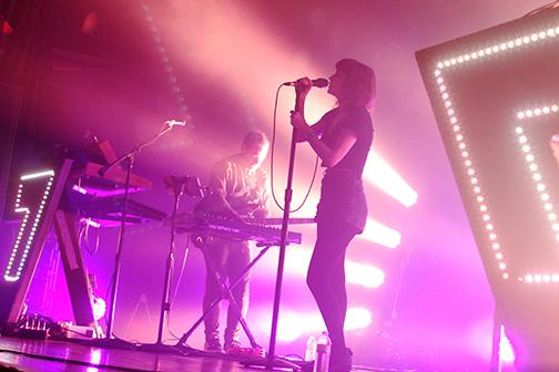 Chvrches impresses at sold out show