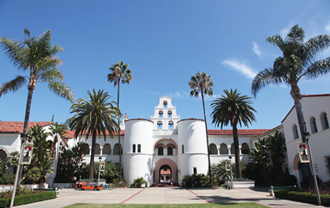 SDSU's Hepner Hall building