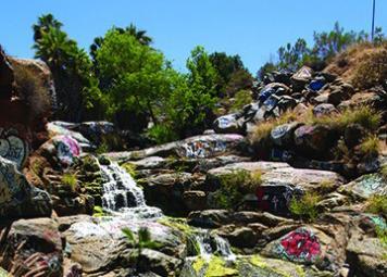 Trespassers resort to Adobe Falls