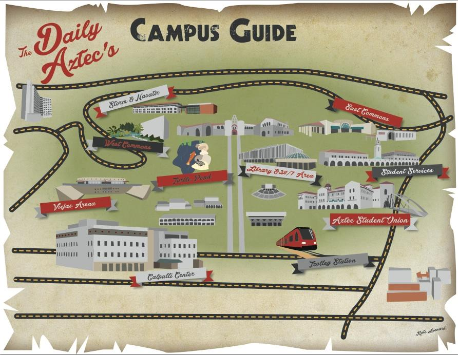 Survival Guide: Places on campus – The Daily Aztec on ndsu map, csu san marcos map, long beach city college map, wright state university campus map, san francisco state university campus map, claremont map, ssu map, west chester university campus map, sjsu map, usd map, mesa college map, north park map, northwestern map, north dakota state university campus map, uc riverside map, san diego map, txst map, texas a&m map, wcu map, usfca map,