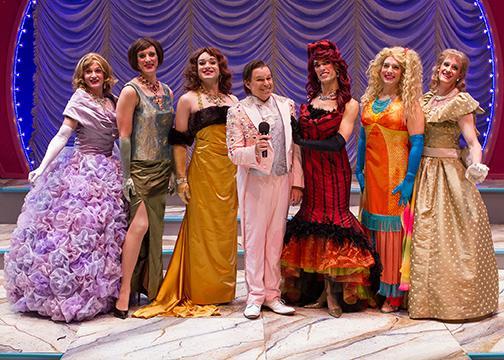 Pageant cast