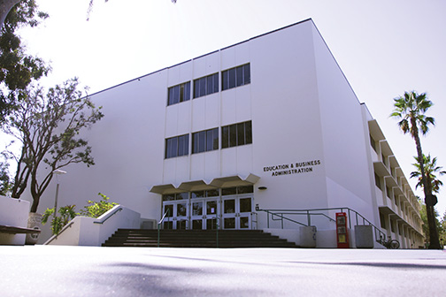 SDSU's Education and Business Administration building