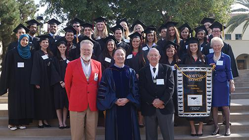 SDSU Mortar Board chapter establishes new scholarship
