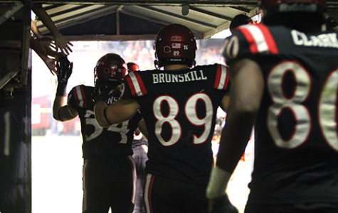 SDSU tight ends have work to do, Brunskill leading pack
