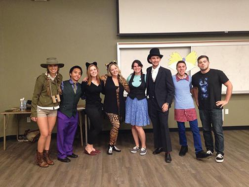 Improv team hosts annual Halloween show